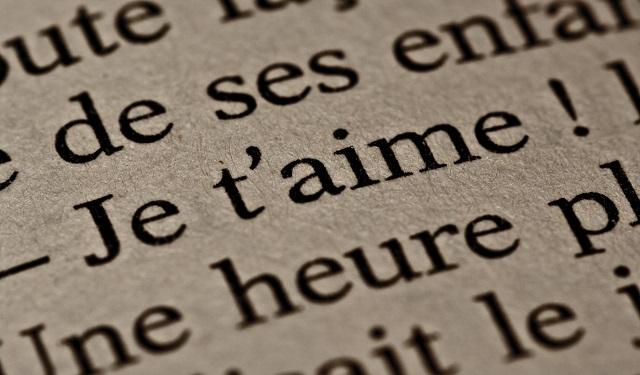frasi dolci per lui in francese