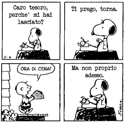 I Peanuts E Lamore Le Vignette Più Belle Di Snoopy Co The