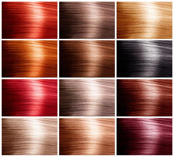 Colori delle tinte per capelli